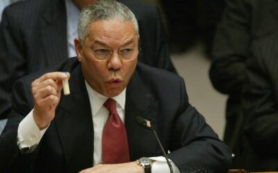 Racist Western Monopoly Media Ignore Colin Powell's Horrendous War Crimes